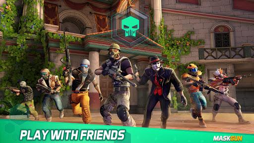 MaskGun Multiplayer FPS – Shooting Gun Games v2.701 screenshots 4