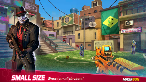 MaskGun Multiplayer FPS – Shooting Gun Games v2.701 screenshots 5