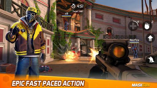 MaskGun Multiplayer FPS – Shooting Gun Games v2.701 screenshots 9