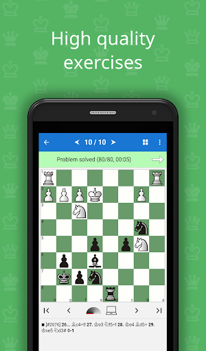 Mate in 3-4 Chess Puzzles v1.3.10 screenshots 1