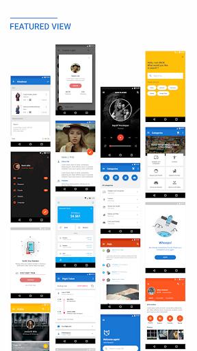 MaterialX – Android Material Design UI v2.8 screenshots 1
