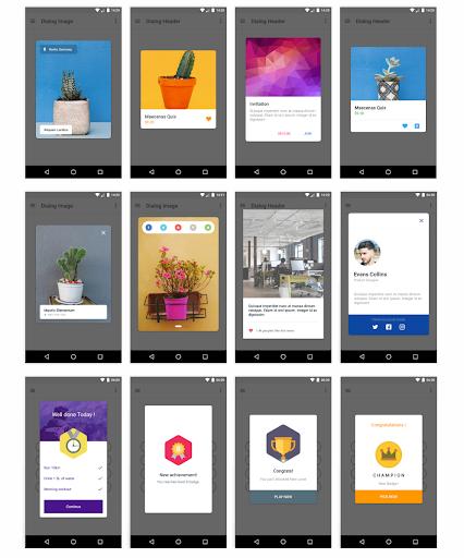 MaterialX – Android Material Design UI v2.8 screenshots 2