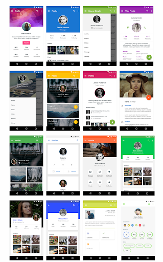 MaterialX – Android Material Design UI v2.8 screenshots 4
