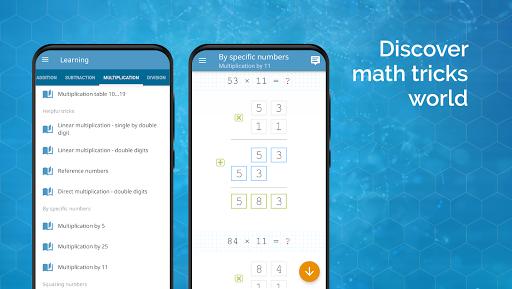Math games arithmetic times tables mental math v screenshots 1