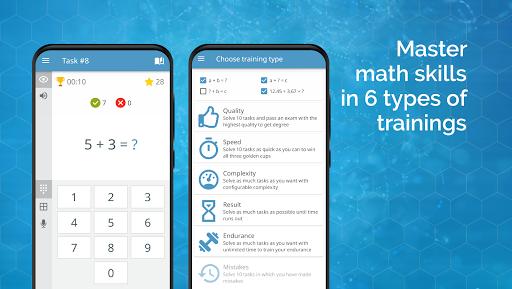 Math games arithmetic times tables mental math v screenshots 4
