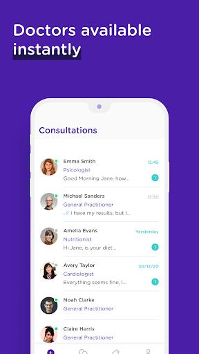 MediQuo Medical Chat – Online doctors consultation v2.0.98 screenshots 1
