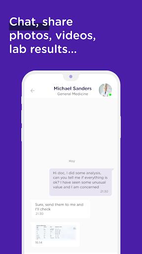 MediQuo Medical Chat – Online doctors consultation v2.0.98 screenshots 2