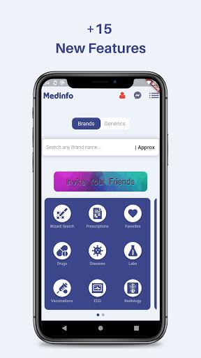 Medinfo Medical information for doctors only v screenshots 1