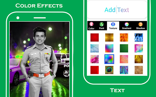 Men police suit photo editor v1.0.25 screenshots 14