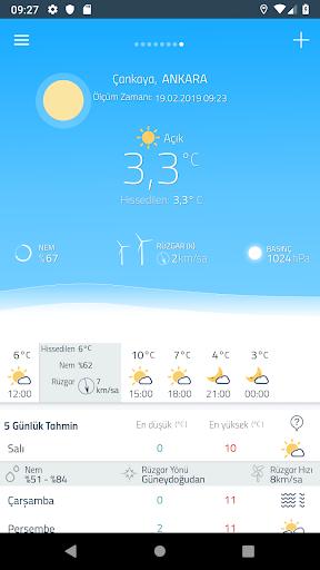Meteoroloji Hava Durumu v6.1.10 screenshots 2