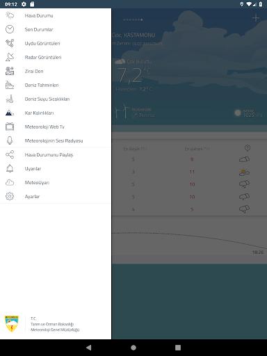 Meteoroloji Hava Durumu v6.1.10 screenshots 9