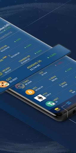 Midas Crypto Wallet Bitcoin Ethereum XRP EOS v2.0 screenshots 2