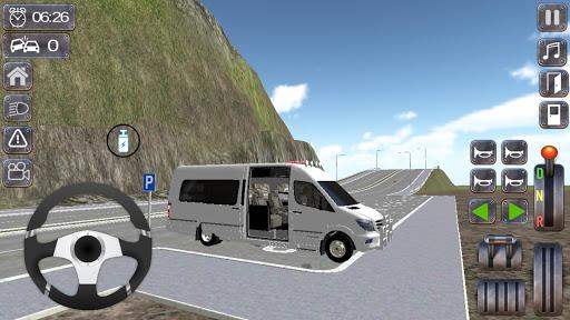 Minibus Sprinter Passenger Game 2021 v6.5 screenshots 1