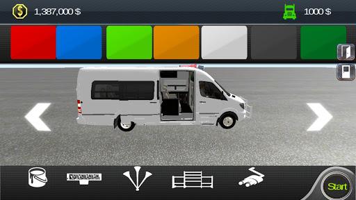 Minibus Sprinter Passenger Game 2021 v6.5 screenshots 10