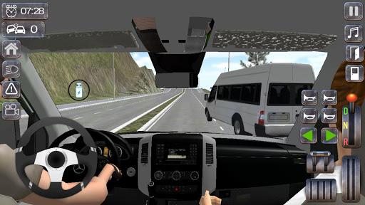 Minibus Sprinter Passenger Game 2021 v6.5 screenshots 13