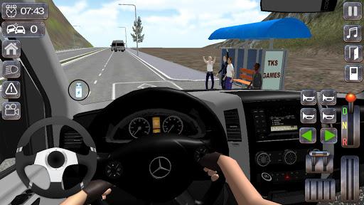 Minibus Sprinter Passenger Game 2021 v6.5 screenshots 2