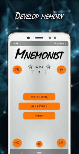 Mnemonist – Memory And Brain Training v1.9.0 screenshots 1