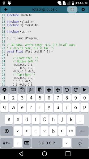 Mobile C CC Compiler v2.5.2 screenshots 2