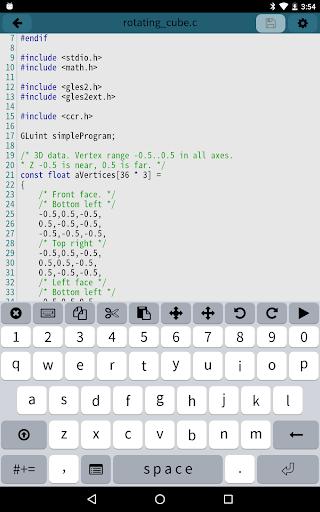Mobile C CC Compiler v2.5.2 screenshots 5