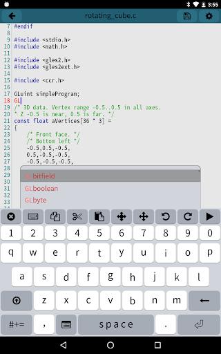 Mobile C CC Compiler v2.5.2 screenshots 6