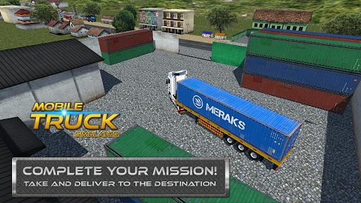 Mobile Truck Simulator v1.1.0 screenshots 2
