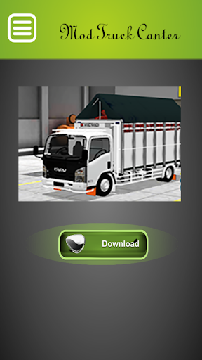 Mod Truck Canter Bussid Indonesia Update v2.0 screenshots 1