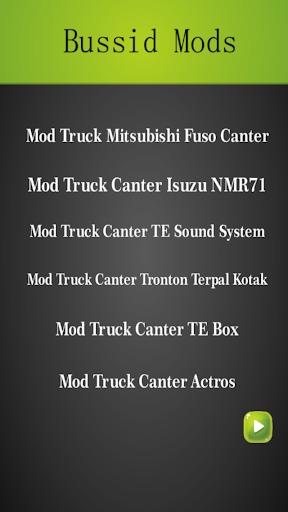 Mod Truck Canter Bussid Indonesia Update v2.0 screenshots 2