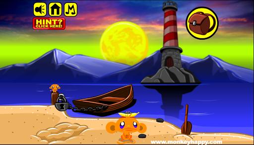 Monkey GO Happy – TOP 44 Puzzle Escape Games FREE v1.2 screenshots 1