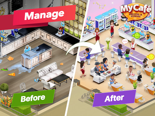 My Cafe Restaurant Game. Serve amp Manage v2021.6.3 screenshots 13
