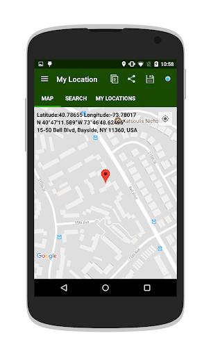 My Location – Where Am I v1.15 screenshots 1