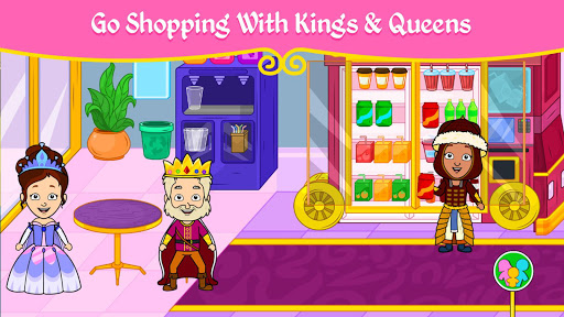 My Princess Town – Doll House Games for Kids v2.4 screenshots 4