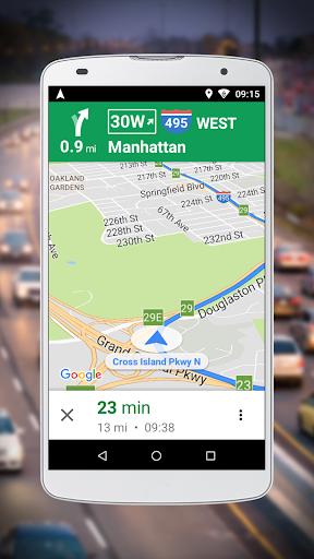 Navigation for Google Maps Go v10.55.0 screenshots 1