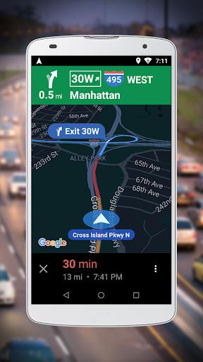 Navigation for Google Maps Go v10.55.0 screenshots 2