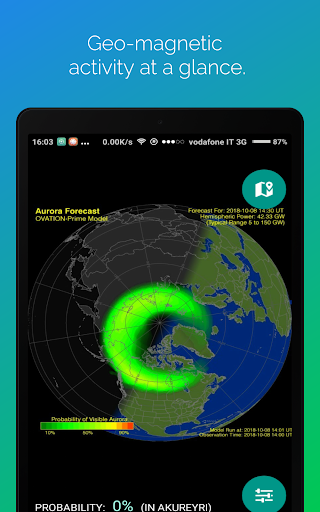 Northern Eye Aurora Forecast v3.3 screenshots 9