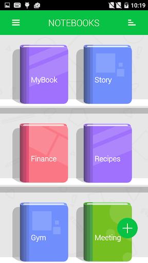 Notebooks v7.5 screenshots 1