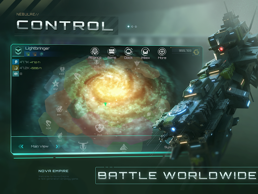 Nova Empire Space Commander Battles in Galaxy War v2.1.11 screenshots 10