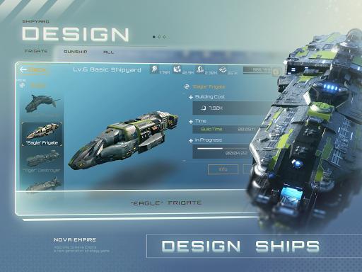 Nova Empire Space Commander Battles in Galaxy War v2.1.11 screenshots 12