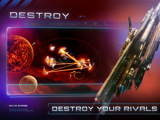 Nova Empire Space Commander Battles in Galaxy War v2.1.11 screenshots 15