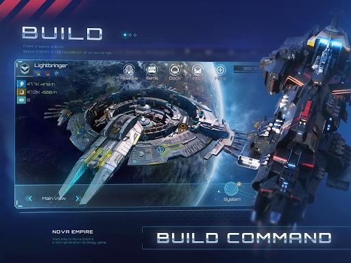 Nova Empire Space Commander Battles in Galaxy War v2.1.11 screenshots 2