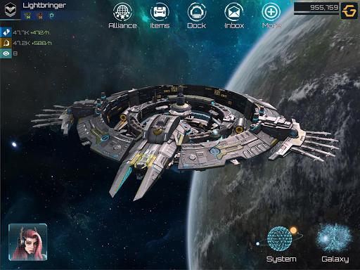 Nova Empire Space Commander Battles in Galaxy War v2.1.11 screenshots 21