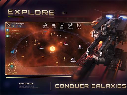 Nova Empire Space Commander Battles in Galaxy War v2.1.11 screenshots 4