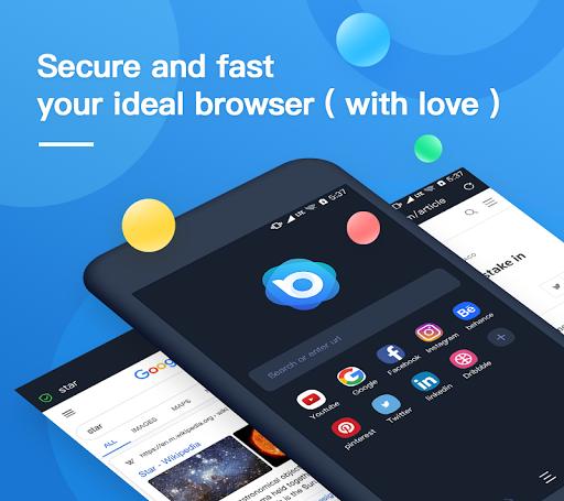 Nox Browser – Fast amp Safe Web Browser Privacy v2.6.11 screenshots 1