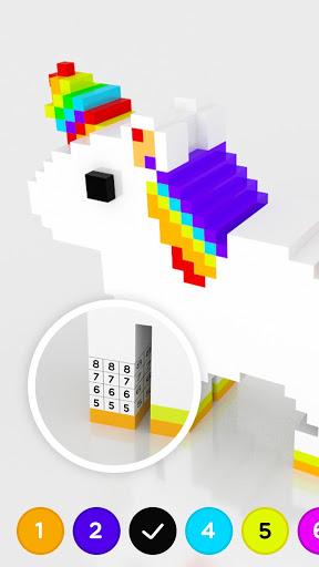 Number Coloring 3D No.Draw v1.3.2 screenshots 2