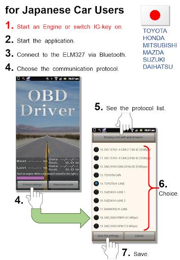 OBD Driver Free OBD2ampELM327 v1.00.44 screenshots 2