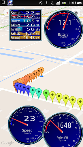 OBD Driver Free OBD2ampELM327 v1.00.44 screenshots 7
