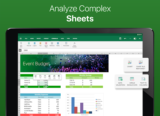 OfficeSuite – Word docs Excel sheets PDF amp more v11.4.35802 screenshots 14