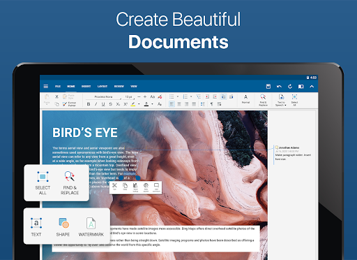 OfficeSuite – Word docs Excel sheets PDF amp more v11.4.35802 screenshots 6