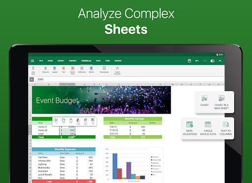 OfficeSuite – Word docs Excel sheets PDF amp more v11.4.35802 screenshots 7