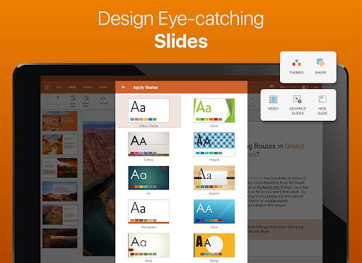 OfficeSuite – Word docs Excel sheets PDF amp more v11.4.35802 screenshots 8