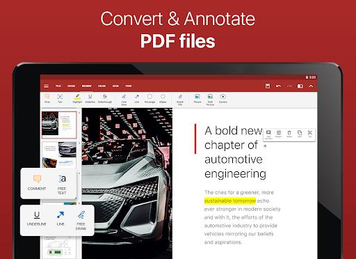 OfficeSuite – Word docs Excel sheets PDF amp more v11.4.35802 screenshots 9